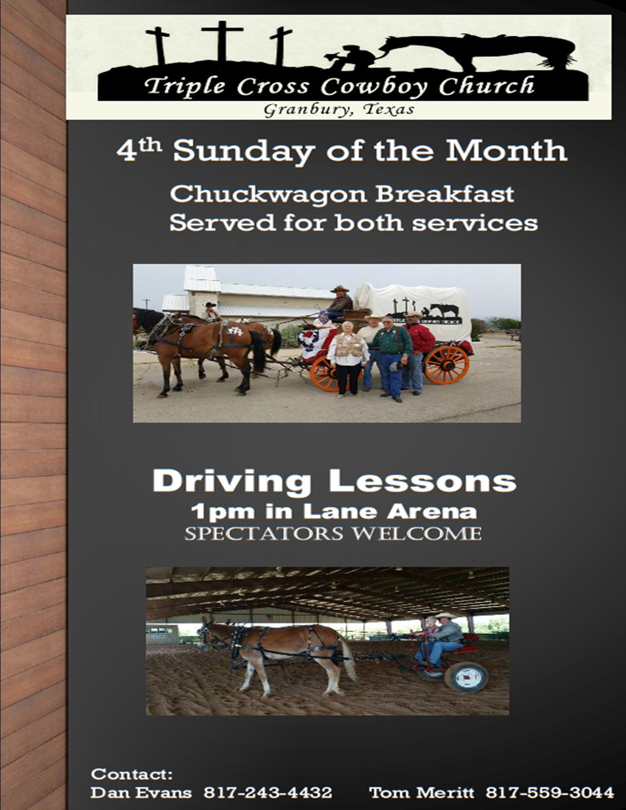 Chuckwagon flyer